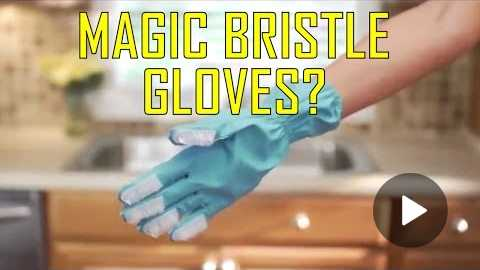 Magic Bristle Gloves As Seen On TV Commercial Buy Magic Bristle Gloves As Seen On TV Bristle Gloves