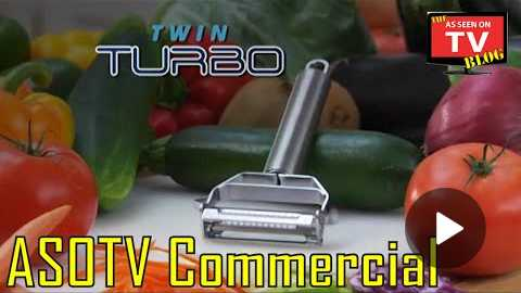 Twin Turbo As Seen On TV Commercial Buy Twin Turbo As Seen On TV Vegetable Peeler