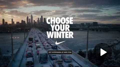 'Choose Your Winter' - Nike