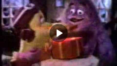 1980's McDonalds Star Wish Christmas Commercial