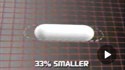 Tylenol Gelcaps Commercial 1988