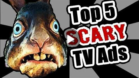 Top 5 Scary TV Commercials