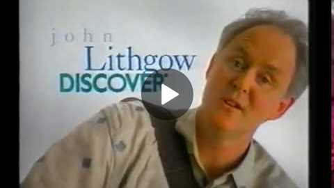 John Lithgow ad for Discover card (May 1997)