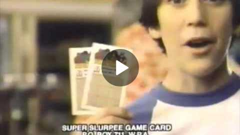 7 Eleven 1981 Super Slurpee Fun Game Commercial