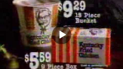 1980's Kentucky Fried Chicken Christmas Commercial