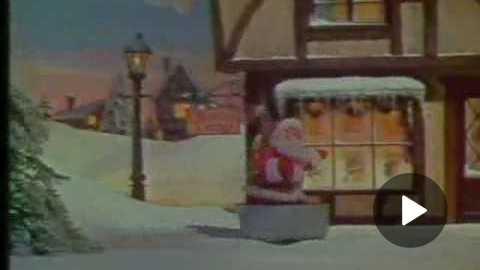 Norelco Christmas Spot - 1970s