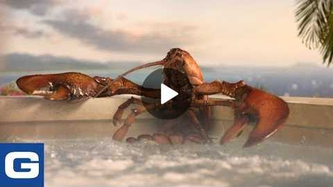 Lobster Hot Tub Party - GEICO