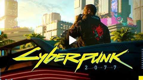 Cyberpunk 2077 official E3 2018 trailer