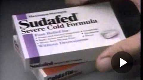 Sudafed Commercial