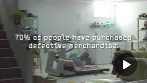 Funny commercial Citicards treadmill