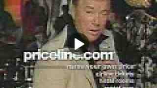 Priceline - William Shatner Busts A Move