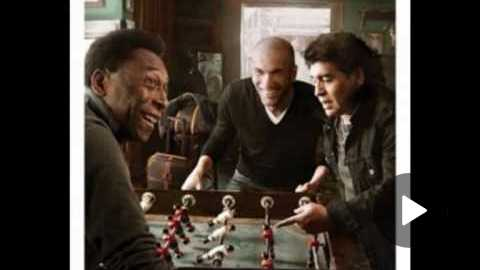 Zidane, Maradona, Pel - Pub Louis Vuitton 2010