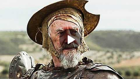 THE MAN WHO KILLED DON QUIXOTE Trailer (Adam Driver, Terry Gilliam) 2018