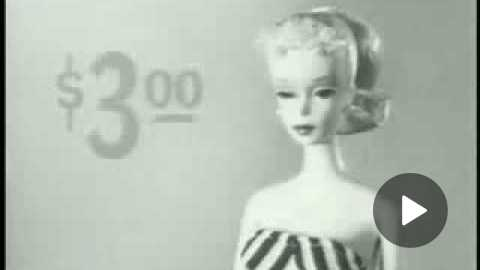 1959 First EVER Barbie Commercial High Quaility HQ!