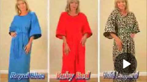 Cozy Caftan Commercial: Stylish and High Fashion?
