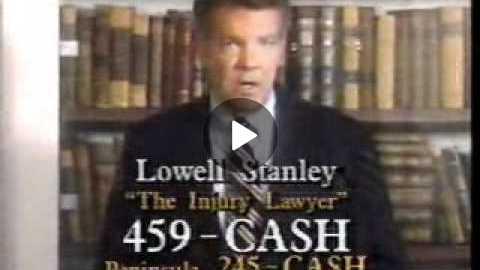 1992 Lowell The Hammer Stanley Commercial.wmv