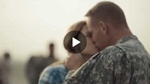 Jeep Military Coming Home - Super Bowl Commercial