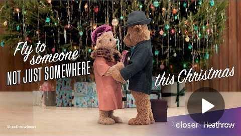 Heathrow Bears Christmas TV Advert - #HeathrowBears