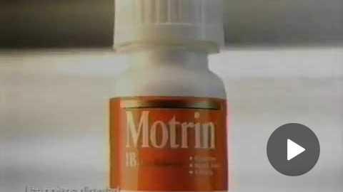 Motrin Commercial 1997