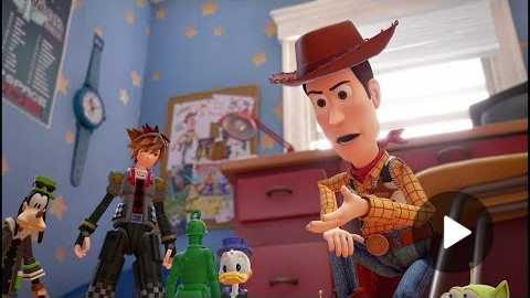KINGDOM HEARTS III D23 2017 Toy Story Trailer