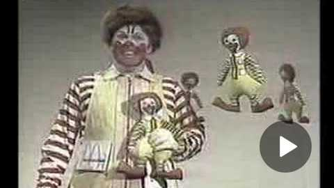 Different Early Ronald McDonald Commercial