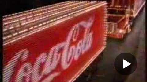 Coca-Cola Classic Christmas 90's TVC