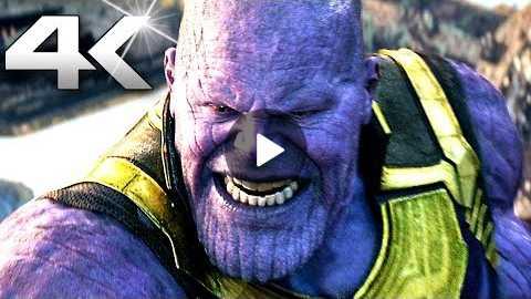 AVENGERS INFINITY WAR 'Thanos VS Avengers' Movie Clip (4K ULTRA HD)