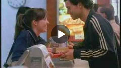 Mc Donalds commercial with Michael Ballack - Jessica Franz