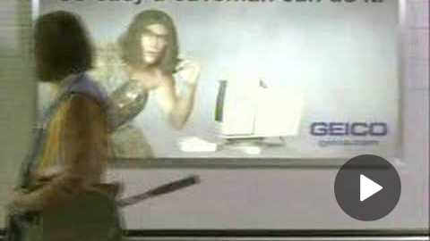 2006 - Geico commercial - Caveman at the airport