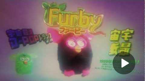 Creepy Japanese Furby Commercial