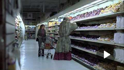 Snickers Halloween Grocery Store Lady