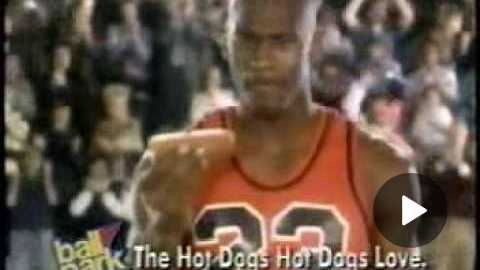 Ball Park Hot Dogs commercial with Michael Jordan