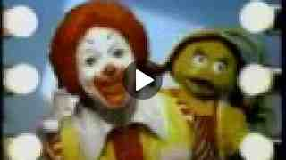 McDonalds Ad from 1991 - Ronald's New Hairstyle