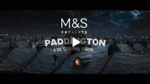 M&S Christmas TV Ad 2017 | Paddington & The Christmas Visitor #LoveTheBear