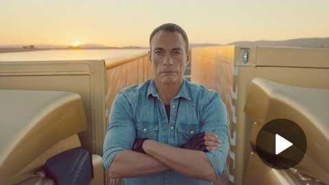 Volvo Trucks - The Epic Split feat. Van Damme (Live Test)