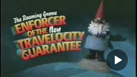 The Travelocity Roaming Gnome commercial
