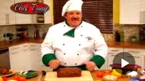 Perfect Meatloaf Plus As Seen On TV Commercial Perfect Meatloaf Plus As Seen On TV Chef Tony