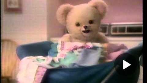 Snuggle Bear 1987
