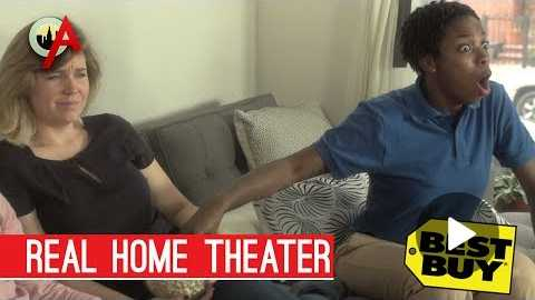 Best Buy Real Home Theater Experience ft. Sasheer Zamata