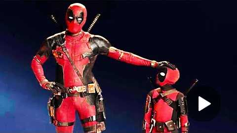 DEADPOOL 2 'Mini Deadpool' IMAX Trailer (2018)