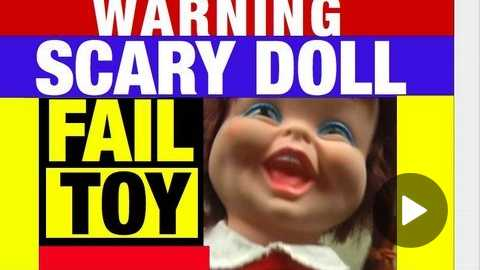 Funny Video- Evil Doll Laughing 'Baby Laugh a Lot' Fail Toys Review Mike Mozart @JeepersMedia