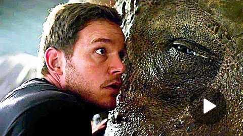 JURASSIC WORLD 2 'Eye of the T-Rex' Trailer Teaser Chris Pratt, New Dinosaurs Movie HD (2018)