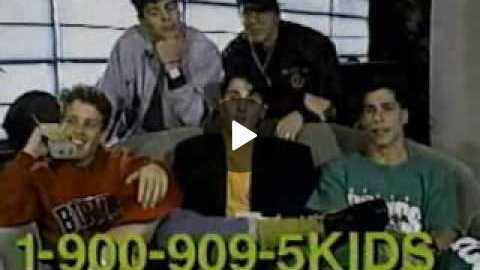 New Kids On The Block Commercial