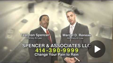 Turn your Pain into Rain !!!! Spencer Law ( Lawyer Commercial )