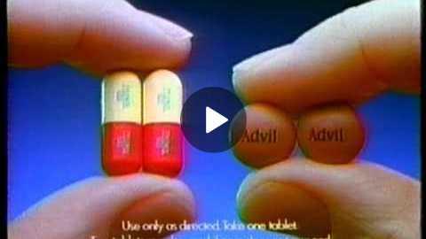 Advil Commercial (1992)
