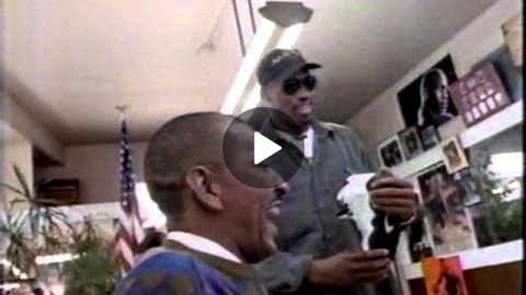 Nike with Dennis Rodman 1994