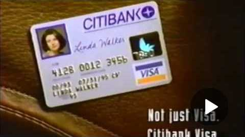 Citibank commercial
