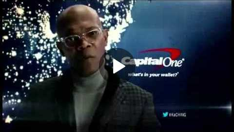 Laurence Fishburne for Capital One Commercial