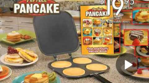 Perfect Pancake | Official Commercial | Top TV Stuff