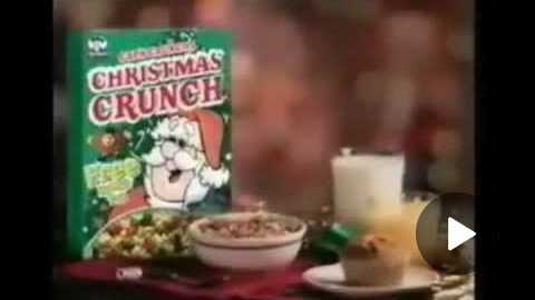 Cap'n Crunch Christmas Crunch Cereal 1997 Commercial